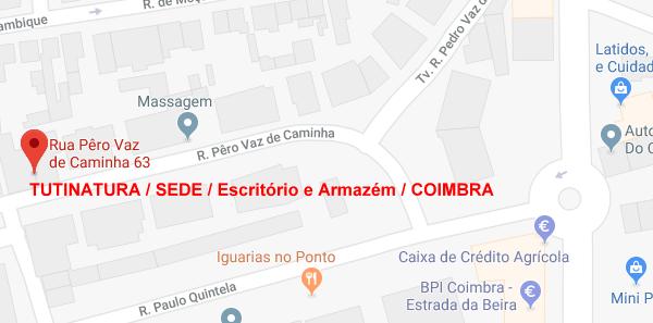 Mapa - Coimbra Sede